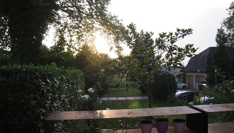 Abendstimmung beim Sommerfest des MC Lago