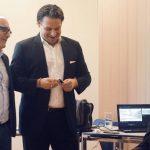 Tamur Goudarzi Pour Swiss International Air Lines McLago Event 2020